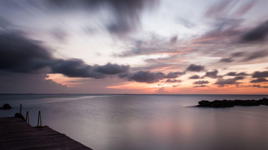 Curacao Island PJ2/PA3FYS  Sunset.