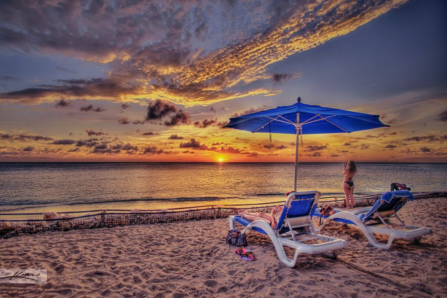 Curacao Island PJ2/PA3HGT Tourist attractions spot Sunset