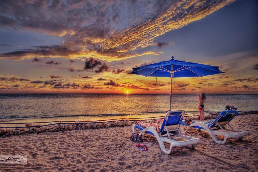 Curacao Island PJ2/PA3HGT Tourist attractions spot Sunset