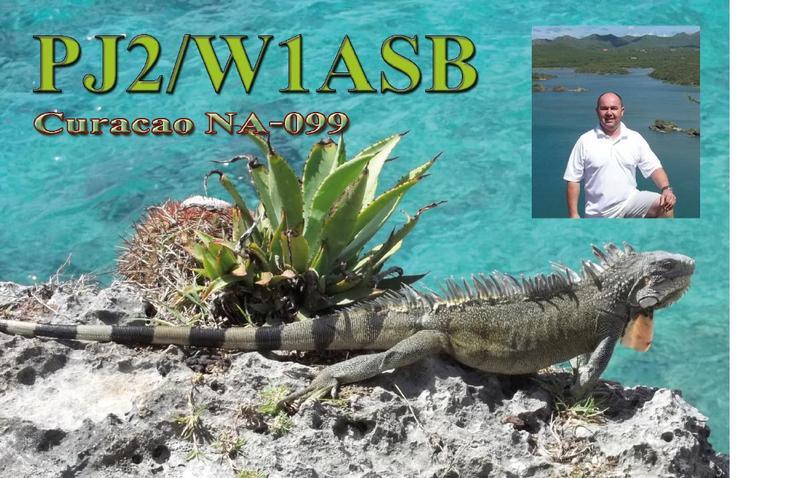 Curacao Island PJ2/W1ASB