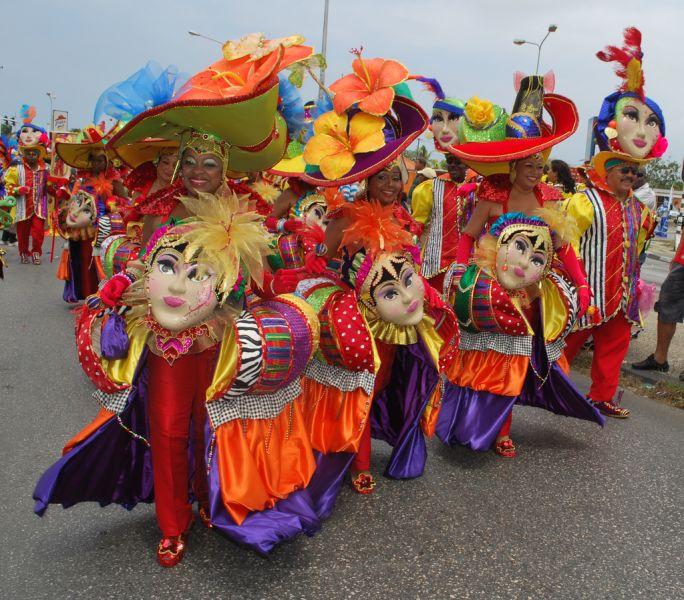 Остров Кюрасао PJ2/W9NJY Туристические достопримечательности Карнавал