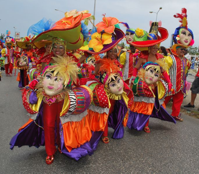 Curacao PJ2/W9NJY Tourist attractions spot Carnival