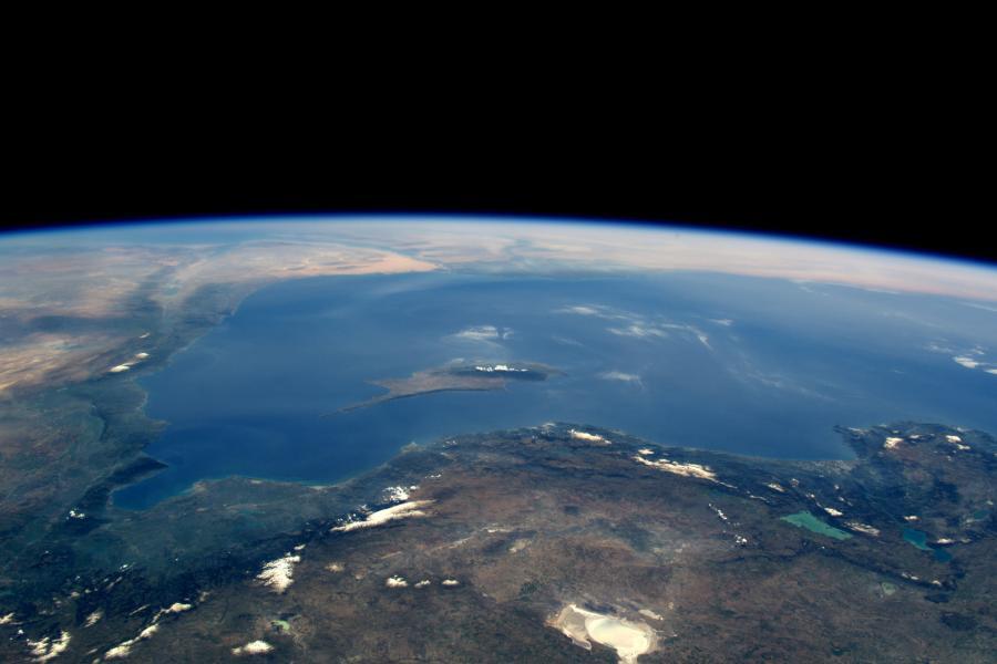 Кипр 5B/DF8DX Снимок из космоса