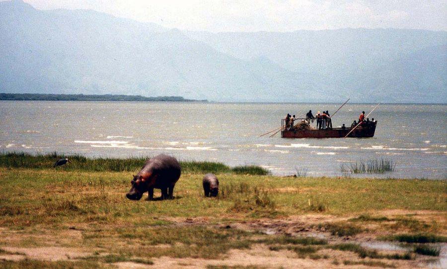 Democratic Republic of Congo 9Q0HQ/1 9Q0HQ Lake Edward.