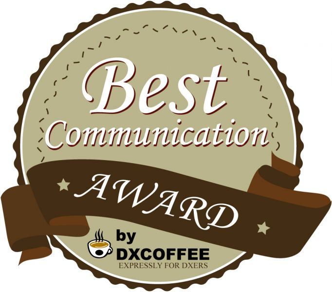 DX Coffee Best Communication Award Winner 2014