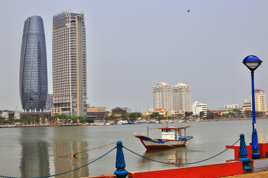 Дананг XV3TH Вьетнам Центр города.