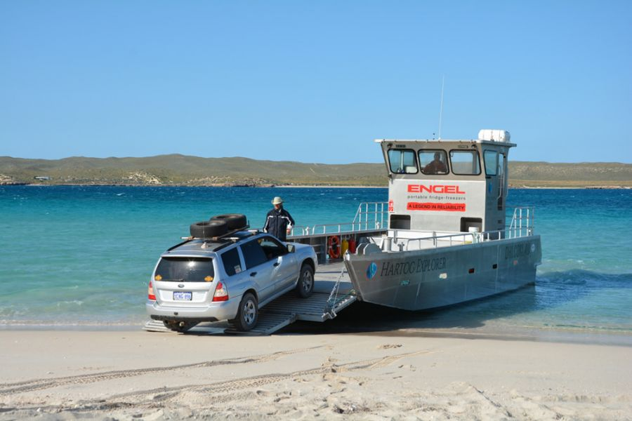 Dirk Hartog Island DX News Barge at Cape Ransonnet VI6DH400