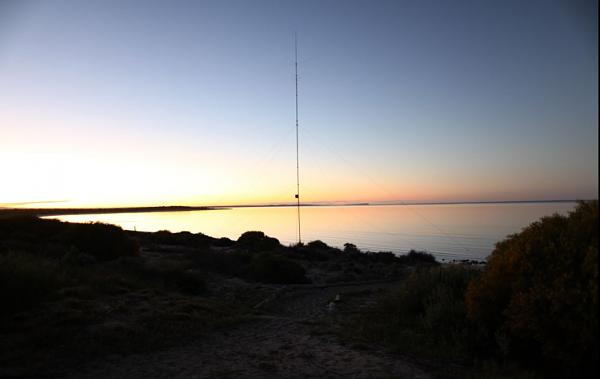 Dirk Hartog Island VI6DH400 Antenna