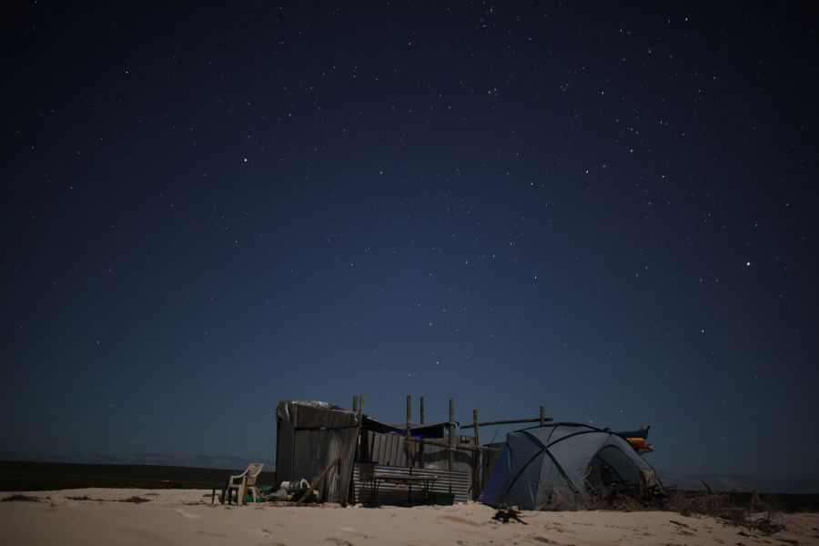 Dirk Hartog Island VK2IAY/6 DX News Night Sky.
