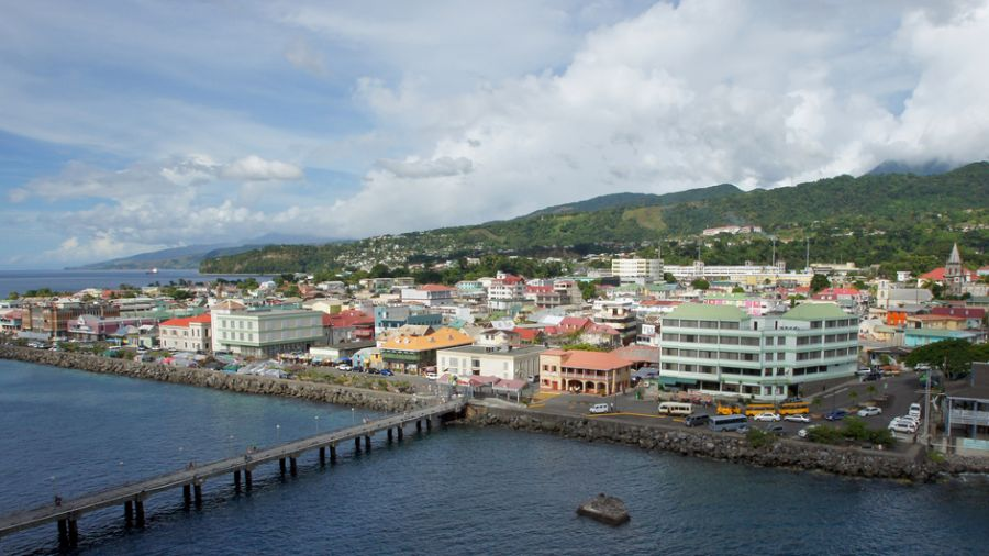 Dominica Island J79JA Tourist attractions