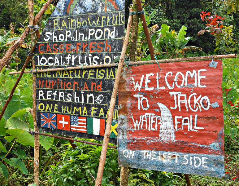 Dominica Island J79RZ Tourist attractions