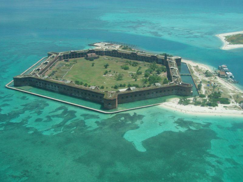 Остров Драй Тортугас K4T DX Новости Форт Джефферсон.