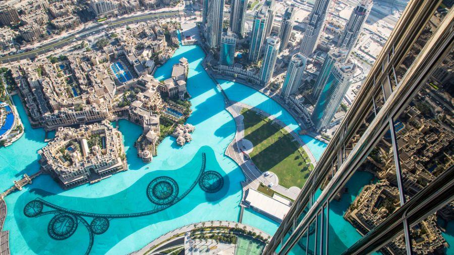 Дубай A6/DL3YM Туристические достопримечательности