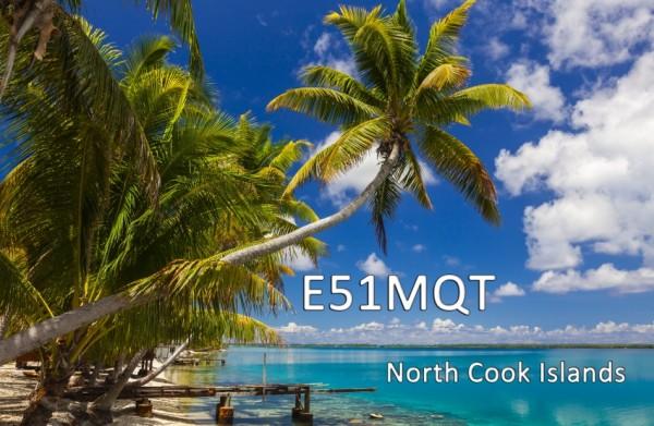Остров Манихики E51MQT QSL