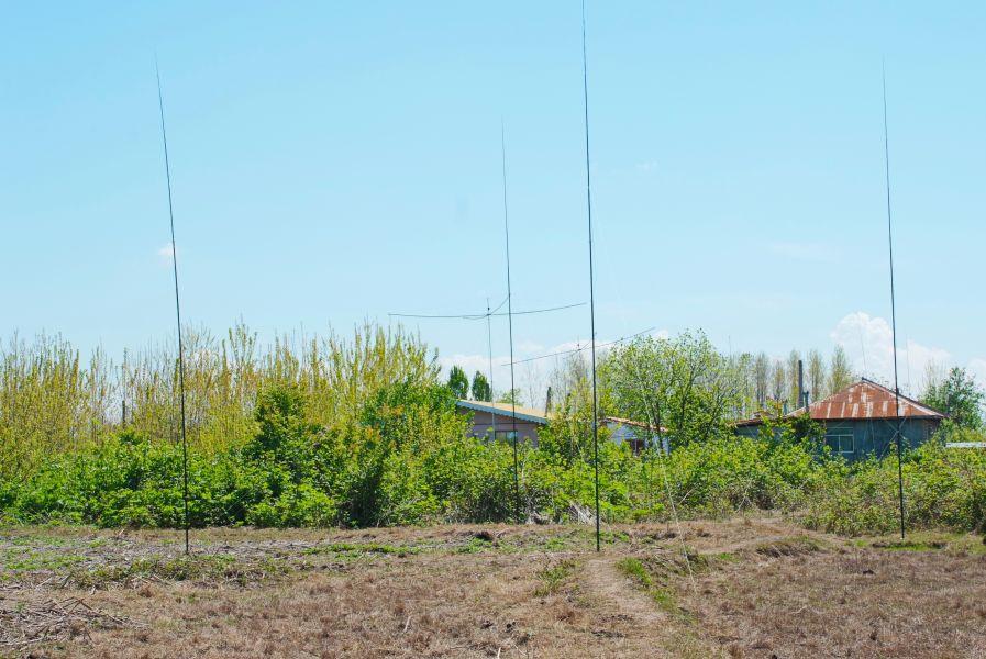 EP2A Iran 40m 4 SQ Antenna