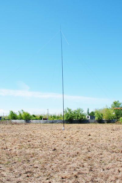 EP2A Iran 80 160m Vertical antenna