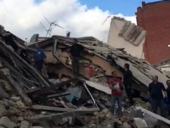 Earthquake Italy Amateur Radio.