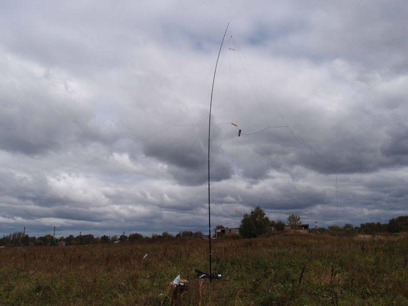 3х элементная VDA антенна