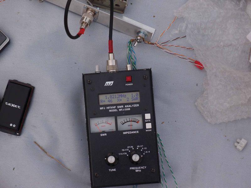 Резонанс вертикальной антенны на 160м