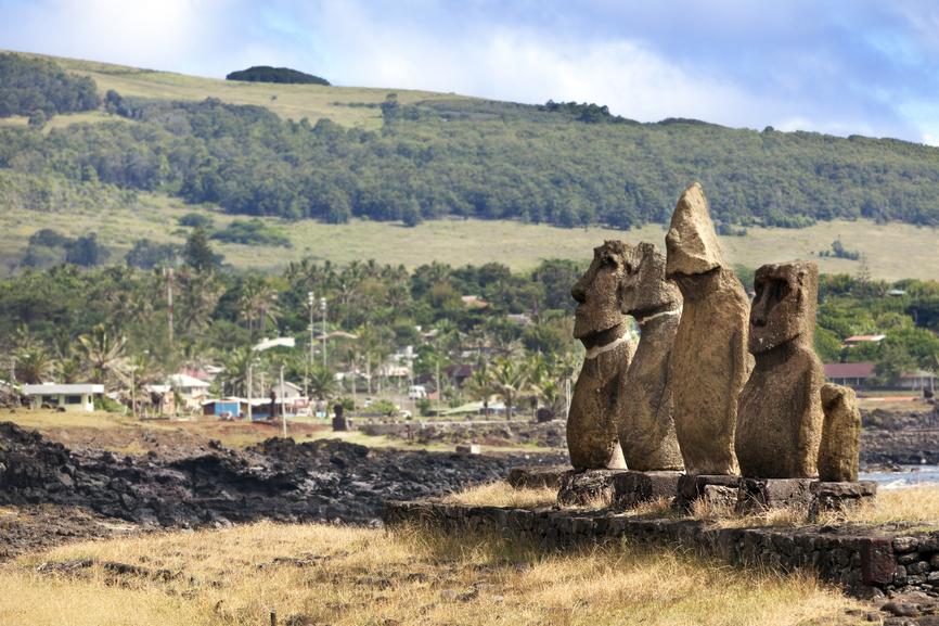 Easter Island CE0Y/DK5VP CE0Y/DL8LR
