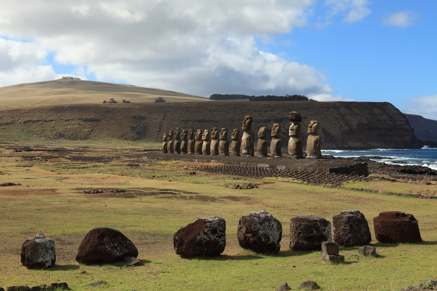 Easter Island CE0Y/LA5UF Tourist attractions
