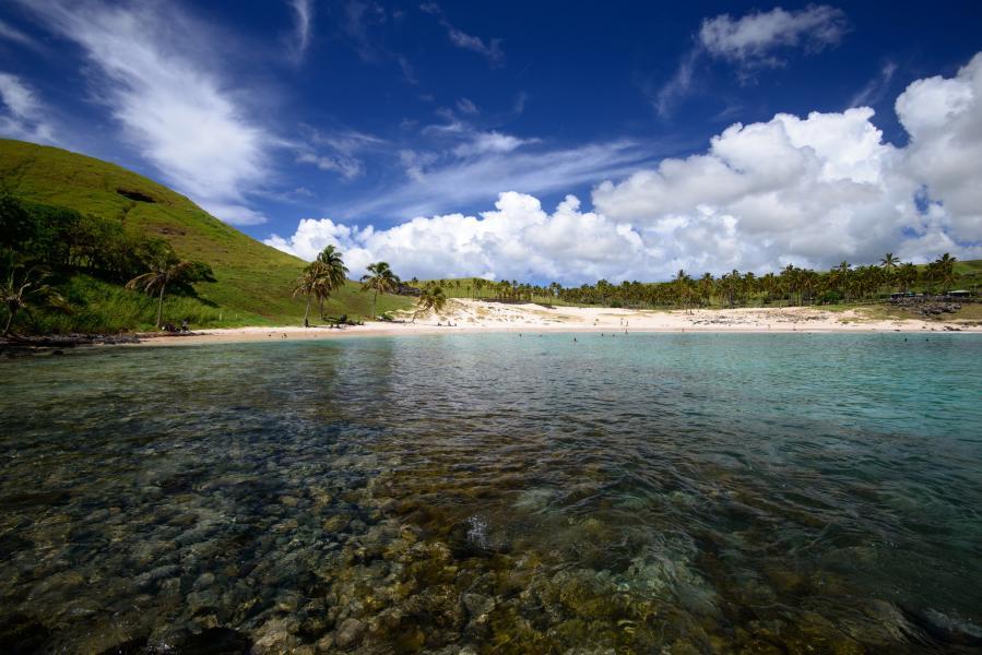 Easter Island CE0Y/LU7VB DX News Anakena Beach.