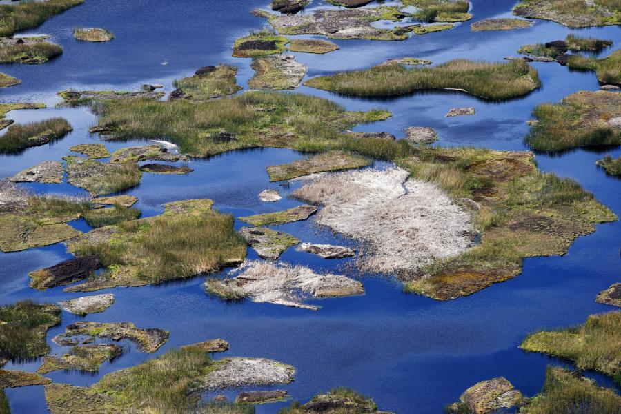 Остров Пасхи CE0Y/LU7VB Озеро Рано Каус.