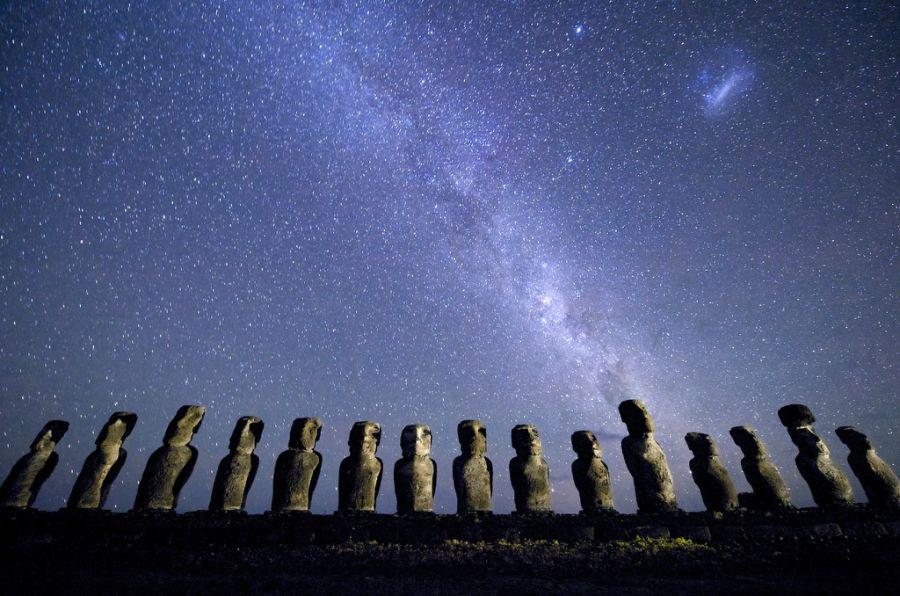 Остров Пасхи XR0YS Туристические достопримечательности