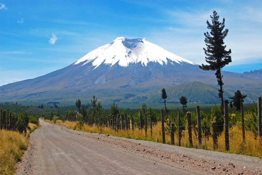 Ecuador HD90IARU DX News Majestic Cotopaxi (the highest active volcano in the world).