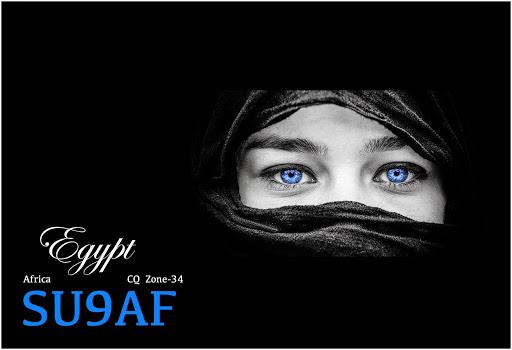 Египет SU9AF QSL 4