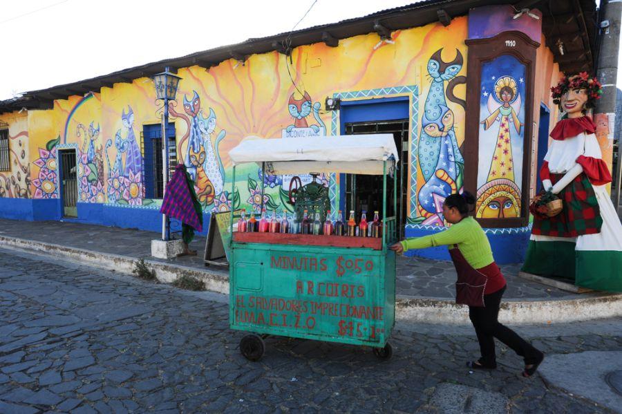 Сальвадор YS1YS Туристические достопримечательности