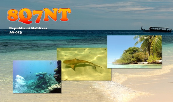 Embudu Island 8Q7NT QSL