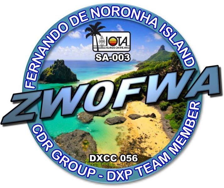 Фернанду ди Норонья ZW0FWA Логотип