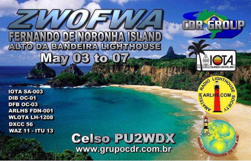 Fernando de Noronha ZW0FWA QSL