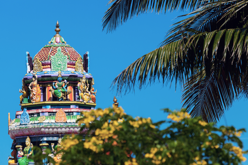 Fiji 3D2SA Tourist attractions Sri Siva Subramaniya Swami Hindu Temple in Nadi