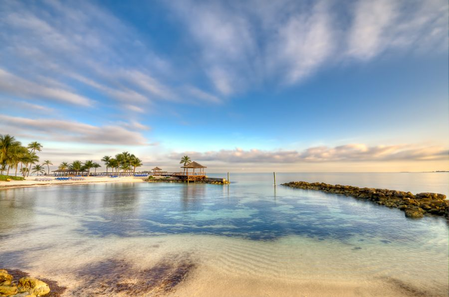 The Bahamas C6AKQ C6AQL Tourist attractions spot View of beach.