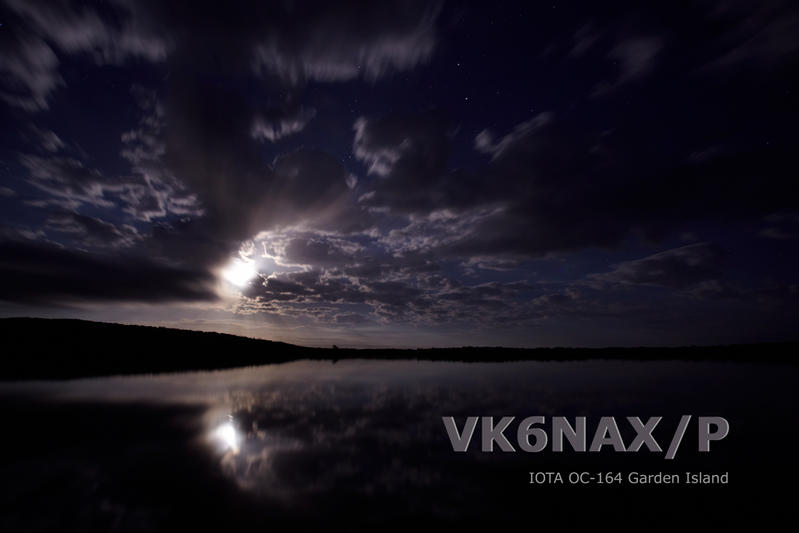 ������ ������ VK6NAX/P QSL