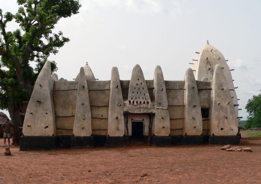 Гана 9G5AM DX Новости Мечеть Ларабанга, Моле.