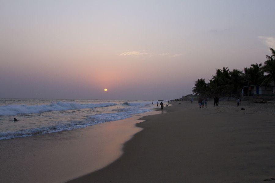 Гана 9G5AM Пляж