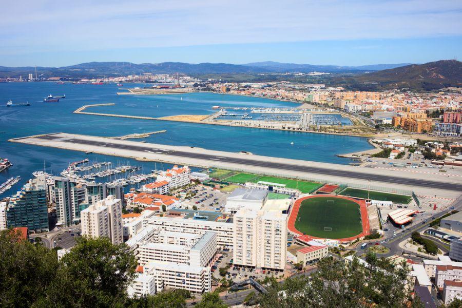 Gibraltar ZB2X Tourist attractions spot