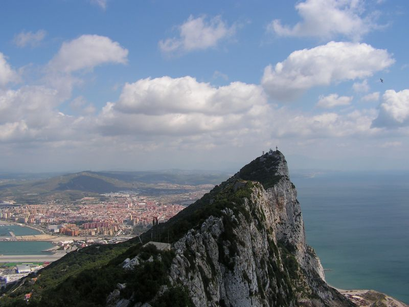 Gibraltar ZB2/VA3ITA Tourist Attractions