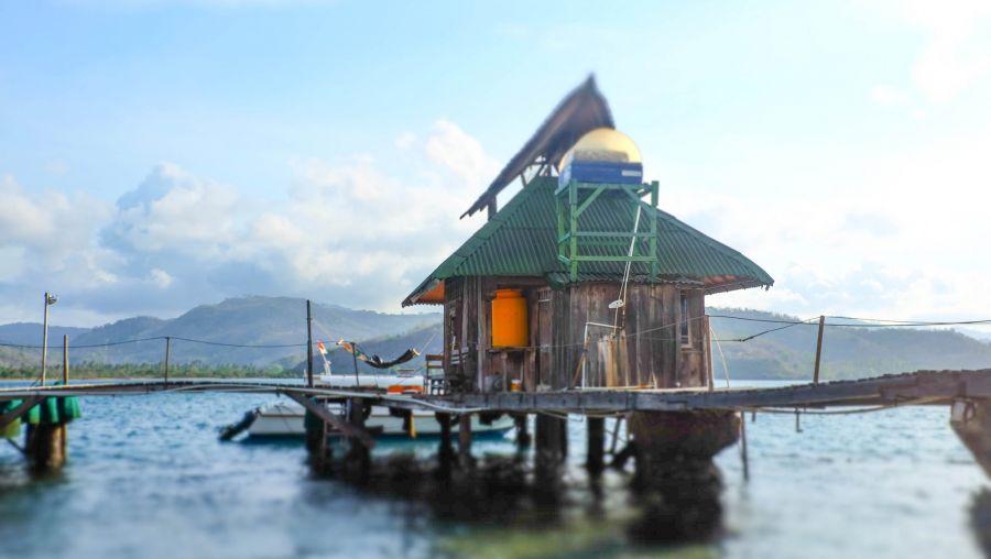 Gili Gede Island YB9KA/P YB9GV/P Tourist attractions spot