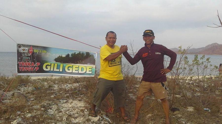 Gili Gede Island YB9GV/P YB9KA/P Photo