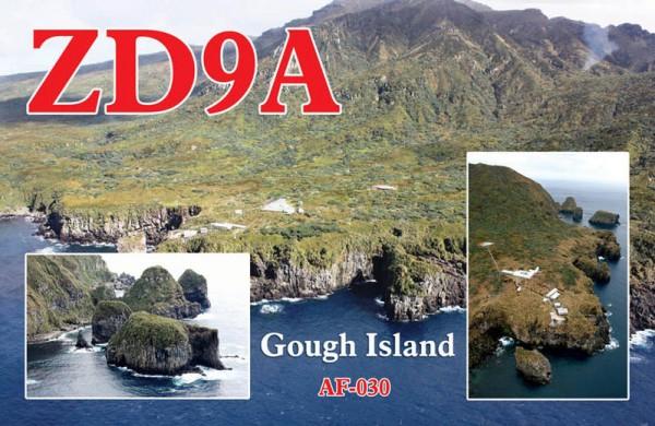 Gough Island ZD9A QSL