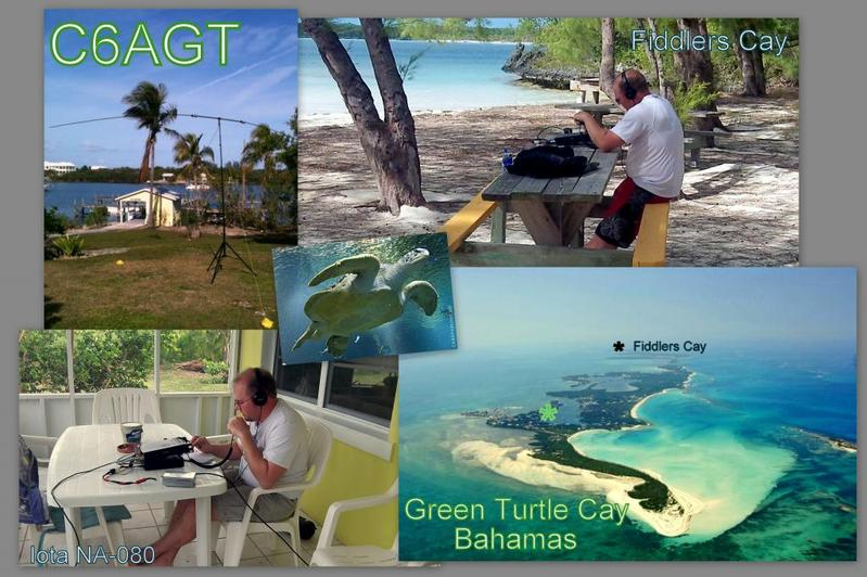 Green Turtle Cay C6AGT QSL