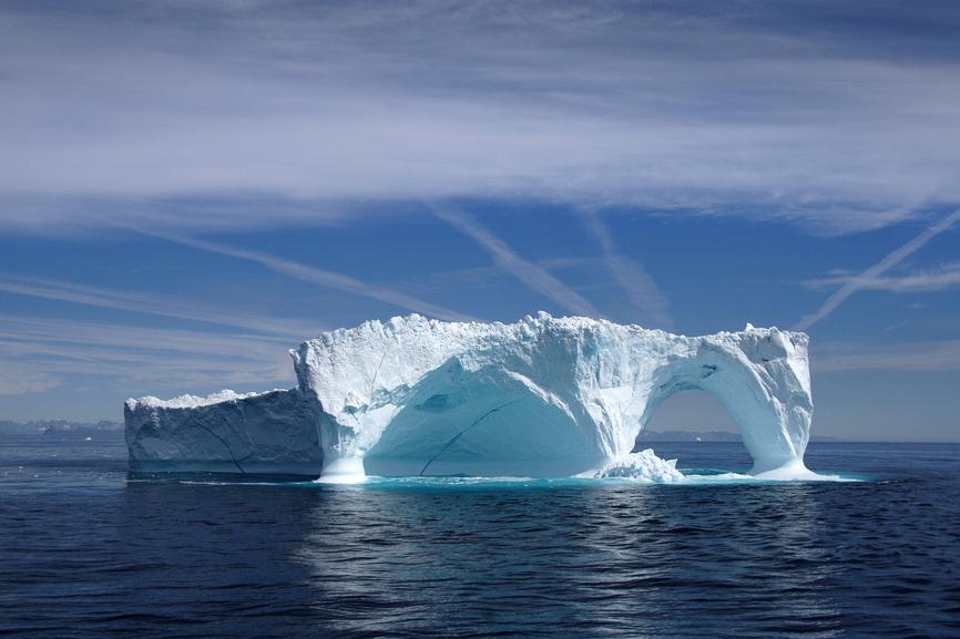 OX3LX Северное сияние, Гренландия