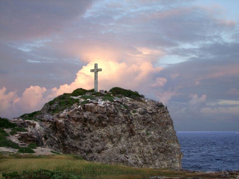 Guadeloupe Island FG/F6ITD TO6D Tourist attractions spot Colorful coastal sundown scenery.