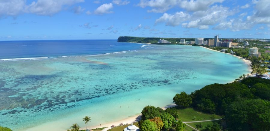 Guam Island KG2A/KH2 Tropical Tumon Bay