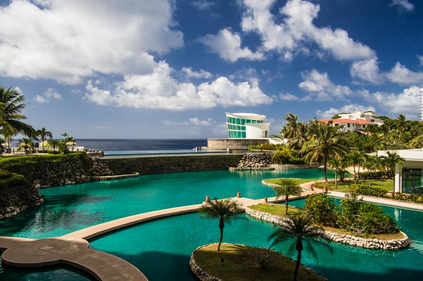 Остров Гуам KH2/JS6RRR Туристические достопримечательности