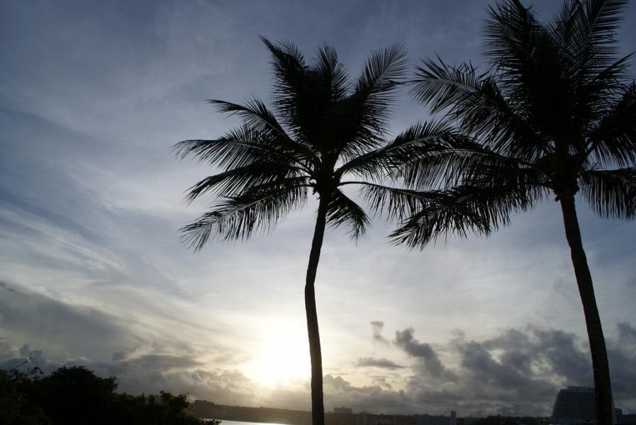 Guam Island KU7FM/KH2 Tourist attractions spot
